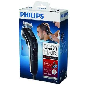 Philips Series 3000 Haarschneider Verpackung Test