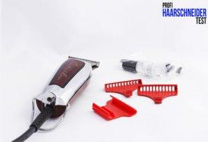 Wahl Detailer T-Wide) Haarschneider Test Zubehör