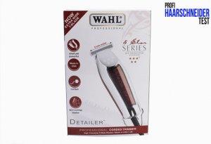 Wahl Detailer T-Wide) Haarschneider Test Zubehör Verpackung