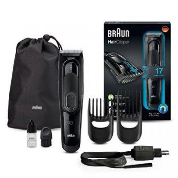 Braun HC5050 Haarschneider Test