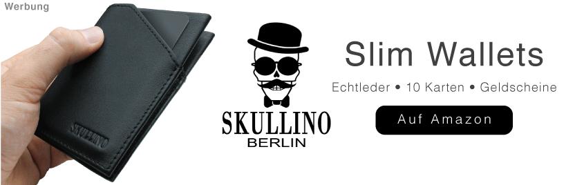 Dünne Geldbörse Skullino Berlin